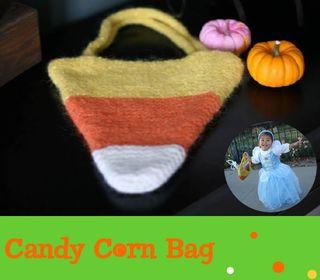 Candy Corn Bag