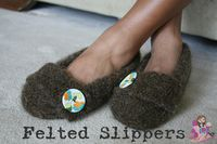 Felted-Slippers
