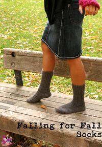 Falling for Fall Socks