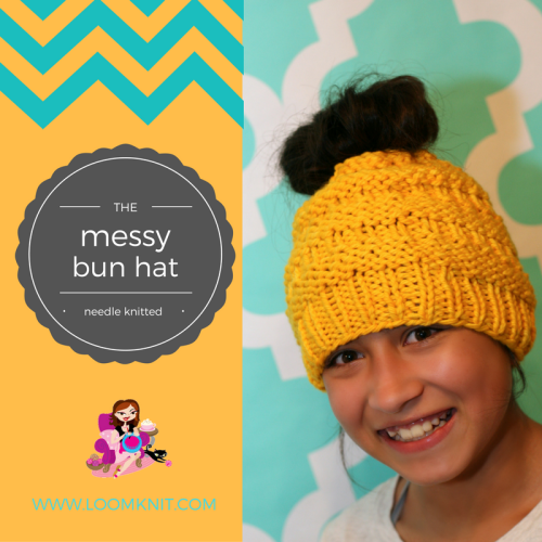 The Messy Bun Hat