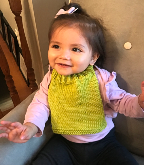 Easy Breezy Bib with Eowyn Ann